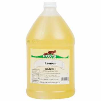 TableTop King 1 Gallon Lemon Slush Syrup - 4/Case