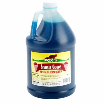 TableTop King Sky Blue Raspberry Snow Cone Syrup 1 Gallon