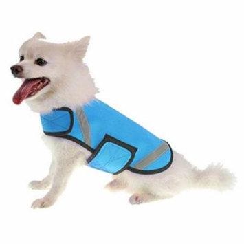 Extreme Neoprene Multi-Purpose Protective Shell Dog Coat, Blue - Medium
