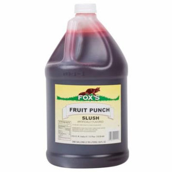 TableTop King Fruit Punch Slush Syrup - 1 Gallon Container