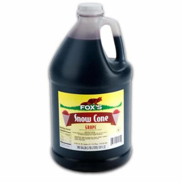 TableTop King Grape Snow Cone Syrup - 1 Gallon