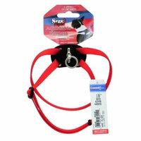 Coastal Pet Size Right Nylon Adjustable Harness - Red X-Small - (Girth Size 10