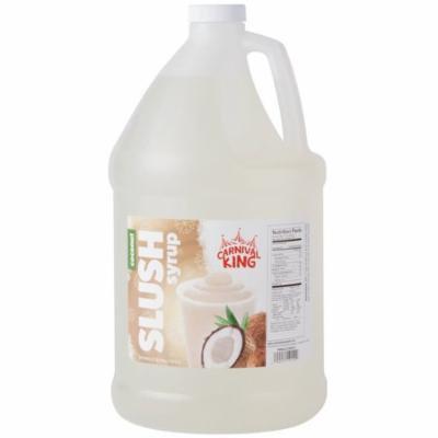 TableTop King 1 Gallon Coconut Slushy Syrup - 4/Case