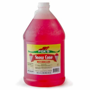TableTop King Watermelon Snow Cone Syrup 1 Gallon