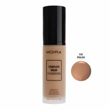 Moira Cosmetics Complete Wear Foundation 550 PRALINE
