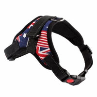 Fabric Vest Traction rope Soft Harrness Strap Lead Leash adjustable