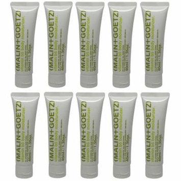 Malin+Goetz Vitamin b5 Body Moisturizer lot of 10 tubes each 1.35oz Total of 13.5oz