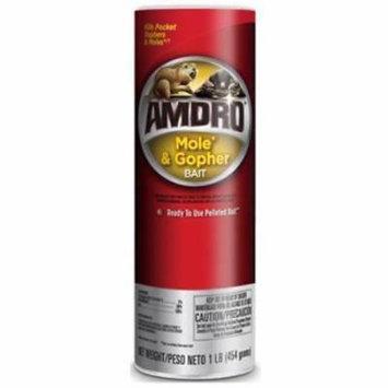 Amdro LB Mole & Gopher Bait Kills Moles & Gophers Fast 2PK