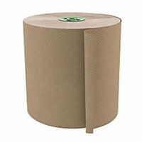 Cascades(R) 100% Recycled Hardwound 1-Ply 7 1/2in. Roll Towel For Tandem(R), 775ft., Moka, 6 Rolls Per Case