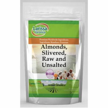Almonds, Slivered, Raw and Unsalted (1 oz, ZIN: 526314) - 2-Pack