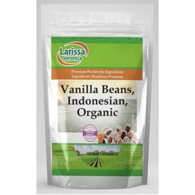 Vanilla Beans, Indonesian, Organic (16 oz, ZIN: 526421) - 3-Pack