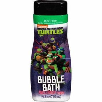 3 Pack - Nickelodeon Teenage Mutant Ninja Turtles Shellshock Punch Bubble Bath 24 oz