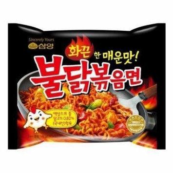 Samyang Hot Chicken Flavor Ramen Stir Fried Noodles Buldak Bokkeum Myun 4.93 OZ (15 Pack)