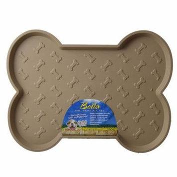 Loving Pets Bella Spill-Proof Dog Mat - Tan Large (21.25