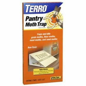 2pc Terro Pantry Moth Trap Ideal For Pantry Moths & Their Larvae 2PK