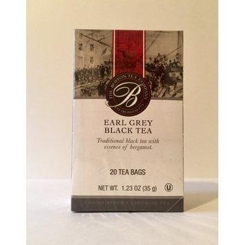 The Boston tea company earl grey black tea 20 tea bags