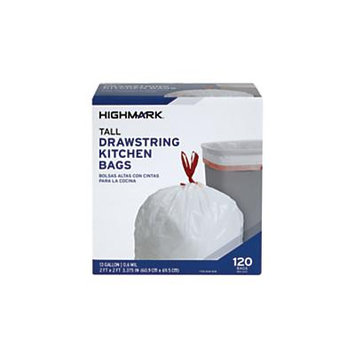 Office Depot Trash Bags, 13 Gallons, Box Of 120, DP08488