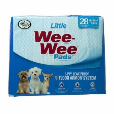 Four Paws Wee Wee Pads for Little Dogs 28 Pack (22