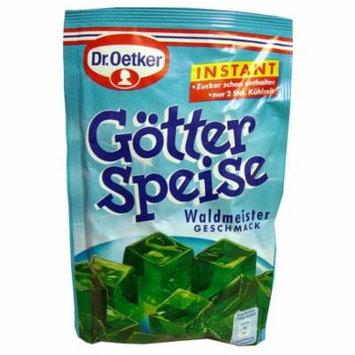 Gotter Speise, Waldmeister- Green Jello (Oetker) 100g