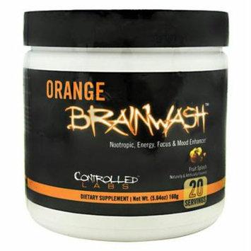 Controlled Labs Orange Brainwash, Fruit Splash, 20 Servings (5.64 oz)