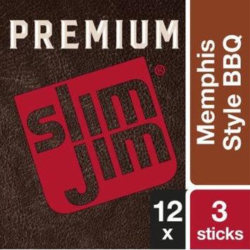 Slim Jim Premium Memphis BBQ 1.23oz (Pack of 12)