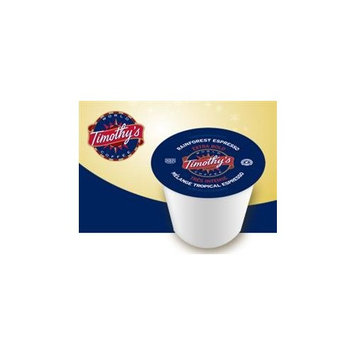 Timothy's Rainforest Espresso Coffee * 1 Box of 24 K-Cups *
