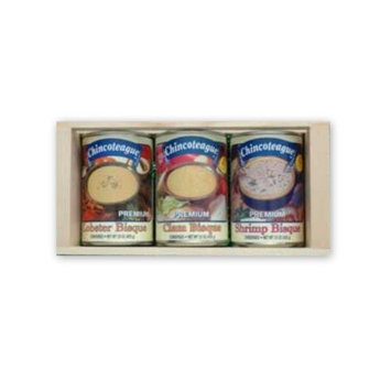 Chincoteague Seafood Bisque Sampler Crate, 4.5-Pound