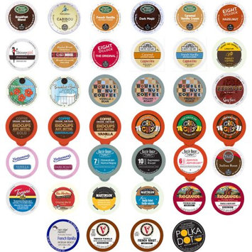 Ssbd Coffee Single Serve Cups For K cups Brewer Variety Pack Sampler, 40 Count