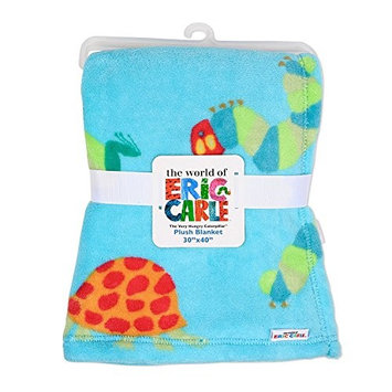 Eric Carle The Very Hungry Caterpillar Baby Plush Printed Blanket, Boys, 30