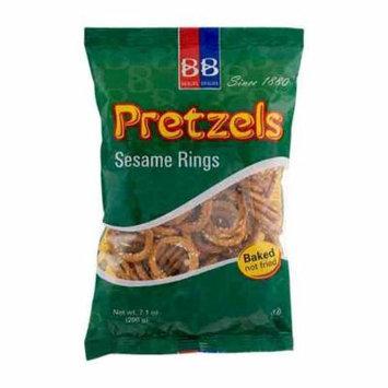 Good Deal!!! Sesame Pretzel Rings Pack of 2 7.1 oz bags