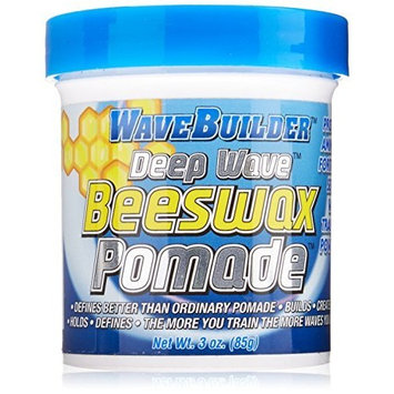 WAVE BUILDER DEEP WAVE BEESWAX POMADE 85gm by Wave Builder
