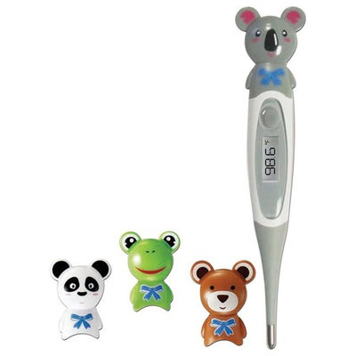 ADC Adimal 426 Commerical Accurate Indoor Water Resistant Pediatric Digital Thermometer, Frog