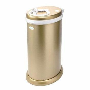 Ubbi Steel Diaper Pail, Gold