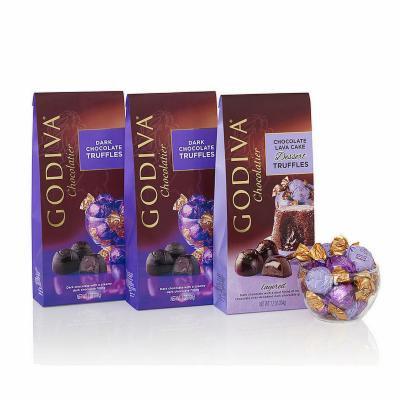 Godiva Wrapped Dark Chocolate Gift Set