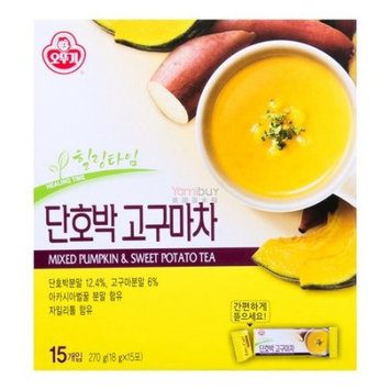 OTTOGI Mixed Pumpkin & Sweet Potato Tea 18g*15