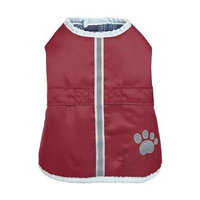Zack and Zoey ThermaPet Nor'Easter Dog Coat - Burgundy X-Small