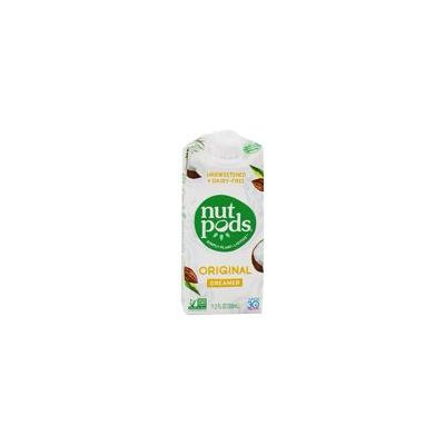 Unsweetened + Dairy-Free Creamer Original - 11.2 oz. by nutpods(pack of 4)