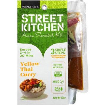 Street Kitchen Yellow Thai Curry Chicken Asian Scratch Kit, 10 oz