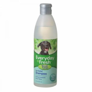 Fresh 'n Clean Everyday Fresh Itch Relief Dog Shampoo - Spring Rain Scent 16 oz - Pack of 12