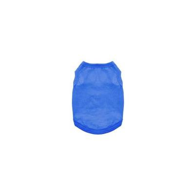 Cotton Dog Tank by Doggie Design - Nautical Blue Small