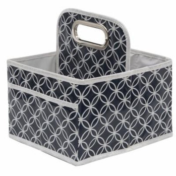 Delta Children Water-Resistant Portable Nursery Caddy, Navy Infinity