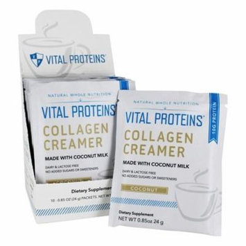 Coconut Milk Collagen Creamer Coconut - 10.2 oz. by Vital Proteins (pack of 2)