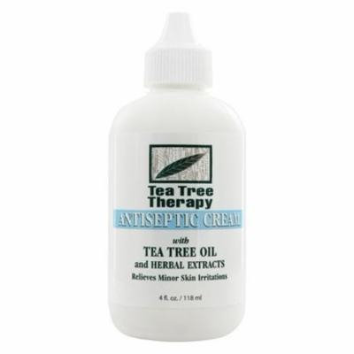 Antiseptic Cream - 4 fl. oz. by Tea Tree Therapy (pack of 3)