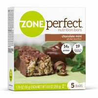 ZonePerfect Nutrition Bar Chocolate Mint High Protein Energy Bars 1.76 oz Bars (Pack of 30)