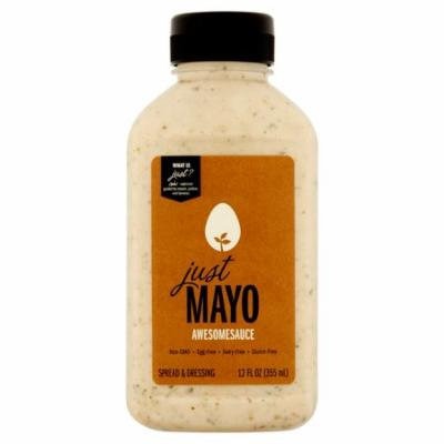 Just Mayo Mayo Awesmesauce Shlf Stb,12 Oz (Pack Of 6)