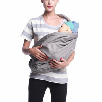 Infant Wrap Carrier, Aniwon Breathable Soft Cotton Simple Designed Baby Sling Carrier Newborn Carrier Baby Back Wrap Nursing Cover Great Baby Gift