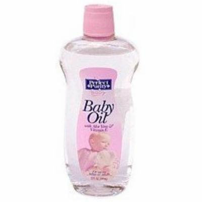 2 Pack - Perfect Purity Baby Oil With Aloe Vera & Vitamin E 12 oz