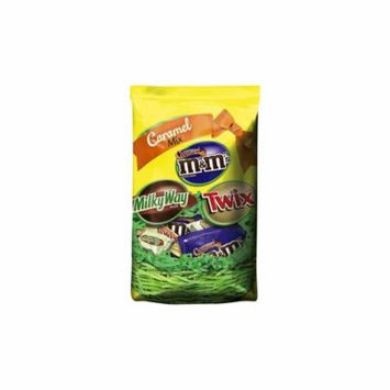 M&M'S, TWIX & MILKY WAY Easter Caramel Variety Mix 20.01-Ounce Bag