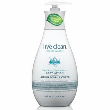 Live Clean Fresh Water Hydrating Body Lotion, 17 oz.