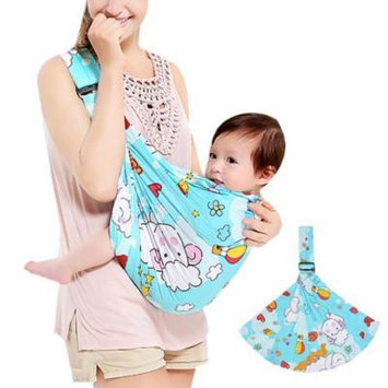 Infant Wrap Carrier, Aniwon Breathable Soft Cotton Multifunctional Baby Back Carrier Newborn Carrier Infant Back Wrap Nursing Cover Great Baby Gift